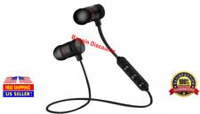 Wireless Bluetooth Sport Gym Headphones Headset Earbuds Earphones with MIC USA