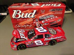#8 Earnhardt Jr. Budweiser 2005 Monte Carlo Action Bank 1:24 NASCAR diecast