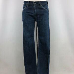 Levi's Men's 506 Straight Leg Jeans W31 L32 Dark Blue Wash Regular Casual 113936