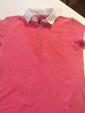 Horze Crescendo Shirt  women's size small pink short sleeved