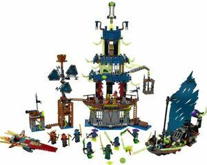 ⭐ RARE ⭐ Lego Ninjago 70732 CITY OF STIIX 100% Complete Manual EXCELLENT COND