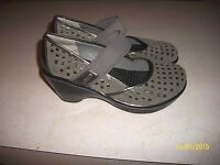WOMEN'S JAMBU GRAY CONVERTIBLE SPORT MARY JANE SHOES 7 M