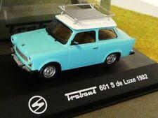 1/43 Atlas DDR Auto Kollektion Trabant 601 S de luxe 1982 türkisblau 2000001