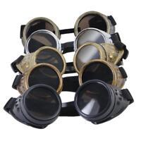 Cyber Goggles Steampunk SunGlasses Vintage Retro Welding Punk Gothic Victorian
