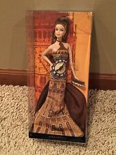 London Big Ben Barbie Dolls of the World Landmark Collection Pink Label NRFB