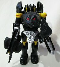 Transformers Takara Beast Wars D-7 ShadowPanther Action Figure LOOSE AS-IS
