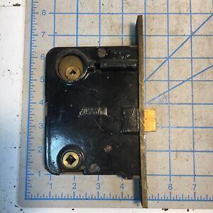 Vintage Large Russwin Mortise Door Lock No Keys