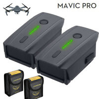 2Pack For DJI Mavic Pro Drone 3830mAh LiPo Intelligent Flight Battery 11.4V