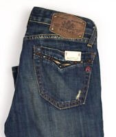 Replay Femme Wendie Slim Jeans Jambe Droite Taille W24 L34 APZ895