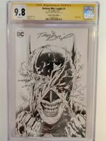 BATMAN WHO LAUGHS #1 (CGC 9.8) 2019 VIRGIN SKETCH COVER! SIGNED by TONY DANIEL!
