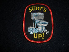 Surf's Up! Patch Vintage 1980's