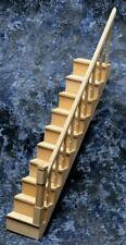 Dolls House Simple Stair Bannister Kit Narrow Staircase Builders DIY Miniature