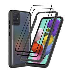 For Samsung Galaxy A51 A71 A20S A21 A11 Hybrid Armor Case Cover/Screen Protector