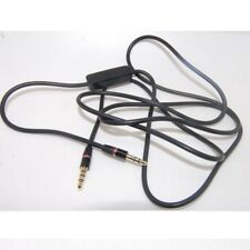 3.5mm Audio Cable Lead Cord w MIC For Philips Fidelio L2 Over-Ear Headphone XN