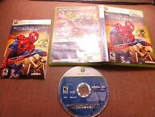 Microsoft Xbox 360 CIB Complete Tested Spider-Man Friend or Foe Marvel Ships Fas