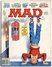 1979 MAD MAGAZINE #206 - Warren Beatty - Nixon - Carter - Mash - Tarzan - Osmond