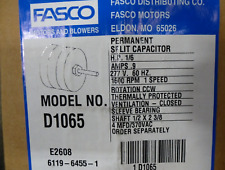 Fasco D1065 OEM Direct Replacement Motor 1/6 HP, 1600 RPM FREE SHIPPING