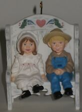 Hallmark Keepsake Ornament Our Little Blessings - Country Kids on a Bench