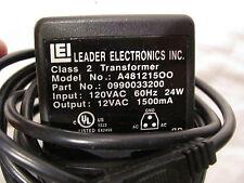 Leader class 2 transformer, 12V, weird 3 hole plug