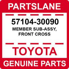 57104-30090 Toyota OEM Genuine MEMBER SUB-ASSY, FRONT CROSS