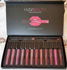 Brand New Huda Beauty Liquid Lip gloss Waterproof Matte Lipsticks 12 Pcs Set