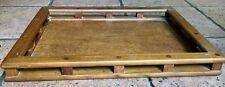 Vintage DANSK Teak Wood Serving Tray Galley Rail JHQ Jens Quistgaard Mid Century
