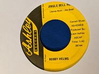 Bobby Helms 45 Jingle Bell Rock/Let's Keep Christ in Christmas Rare Label Rocker