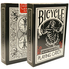 Black Tiger Playing Cards - Collectible Black Face Deck from Ellusionist