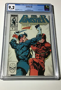 Punisher #10 Marvel 8/88 White Pages CGC 9.2 NEWLY SLABBED Daredevil Appearance