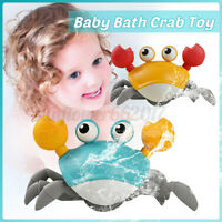 Baby Bath Toys Crab Walk Swim Clockwork Water Beach Summer Play Toy