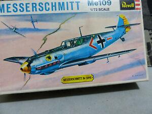 REVELL - 1:72 - Messerschmitt ME 109 -Luftwaffe-H 612-Kit nuovo e perfetto -