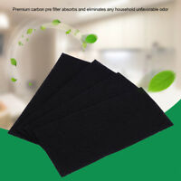 Universal Activated Carbon Sponge Air Fume Filter Impregnated Charcoal Sheet Pad