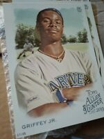 Ken Griffey Jr. Jumbo Topps 2019 5x7 /49 Mariners Perfect For Autographs