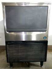 Hoshizaki Km 151bah Air Cooled Crescent Cube Ice Machine With Built In Storage Bin