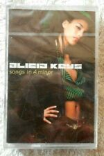 "Alicia Keys ‎ ""Songs In A Minor » K7 audio Neuve sous cellophane"