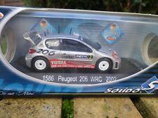 SOLIDO RACING PEUGEOT 206 WRC RALLYE 2002 ref 1586 état Neuf en boite