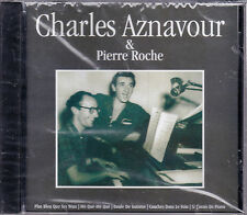 CD CHARLES AZNAVOUR & PIERRE ROCHE 16T BEST OF DE 2005 NEUF SCELLE
