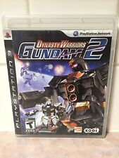 Dynasty Warriors: Gundam 2 (Sony PlayStation 3) PS3 Complete With Manual--TESTED