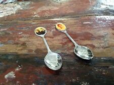 Royal Family Collector Spoons Silver Plate Lot Of 2 Lady Diana Prince Andrew