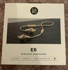 Bang & Olufsen Beoplay E6 In-Ear Headphones with Mic/Remote - Natural / Sand