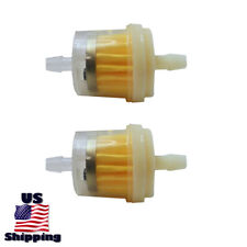 2 Inline Fuel Filter for Generac 6602 6603 66020 3000 6809 6413-0 Pressure Washe