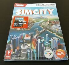 SimCity: The Prima Official Game Guide - 2013 PC book EA strategy BRAND NEW