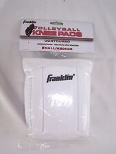 Franklin Contoured Volleyball Knee Pads Small / Medium White w/ Black NEW