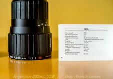 Angenieux DEM 200mm f/2.8 ED canon fd [Dallmeyer // Leica // Kinoptik]