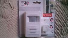 Infrarot-Sensor mit Bewegungsmelder-Alarm und Durchgangsmelder neu ovp