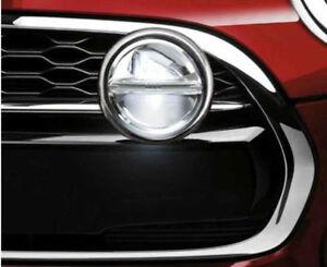 MINI Genuine Kit LED Auxiliary Driving Lamps Chrome Spotlight lamp 63122287147