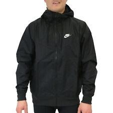 Nike Sportswear Windrunner Jacke Laufjacke Sportjacke Kapuze Herren Schwarz