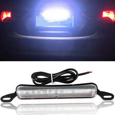 Xenon White 12-SMD Bolt-On LED License Plate Light Lamp For Car (Universal Fit)