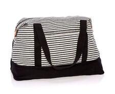 BN Thirty one Retro Metro Weekender travel Duffel bag 31 gift in Twill Stripe