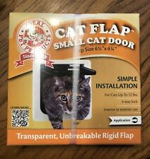 "Ideal Pet Products Cat Flap Small Cat Door 6 1/4"" X 6 1/4"" - New"